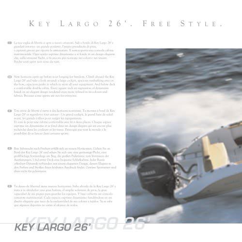 KEY LARGO 26' FREE STYLE