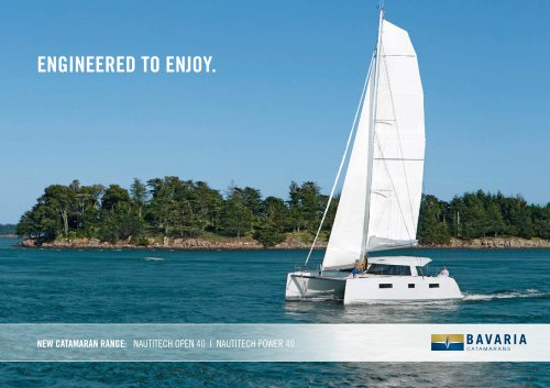NEW CATAMARAN RANGE