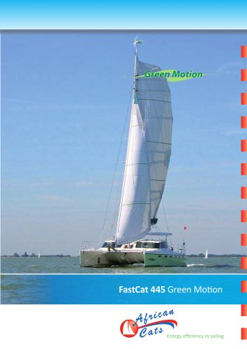 FASTCAT 445 Green Motion