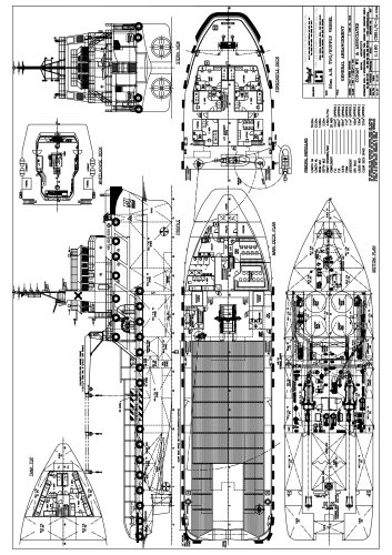 55M Anchor Handling Tug/Supply Vessel