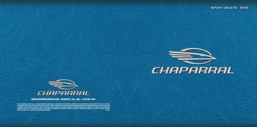 2012 Sport Boats brochure