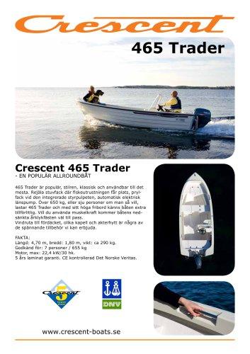 crescent 465 trader test