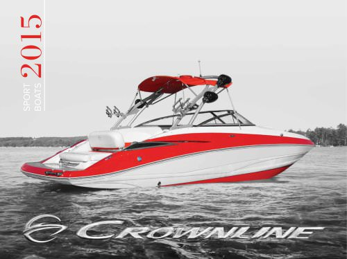 Catalog 2015 Sport Boats