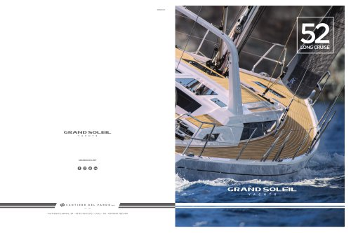Brochure GS 52 Long Cruise