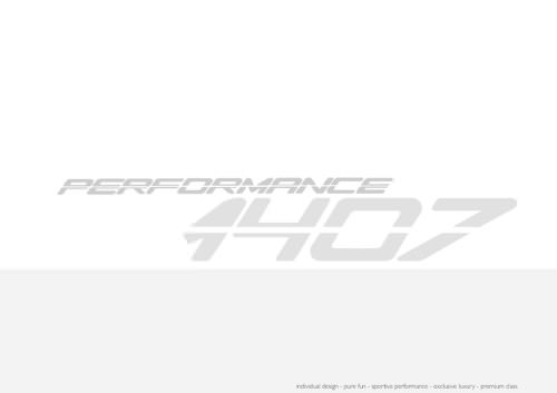 PERFORMANCE 1407