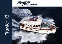 Rhéa Trawler 43