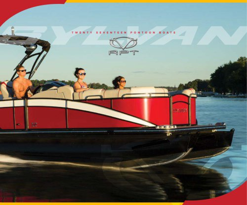 2017 Sylvan Pontoon Boats