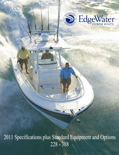 EdgeWater Specs 228 to 388 Models