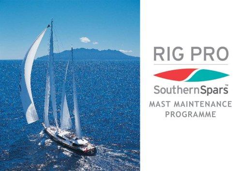 Rig Pro Mast Maintenance Programme