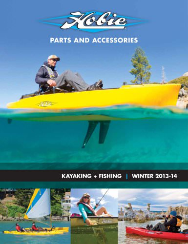 2013 winter kayaking fishing - catalog international