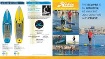 Hobie Mirage Eclipse Quad fold Brochure - 1