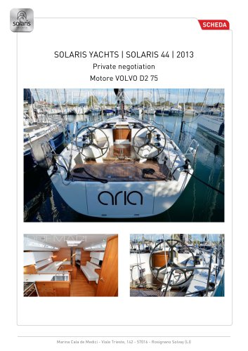 SOLARIS 44 RACE
