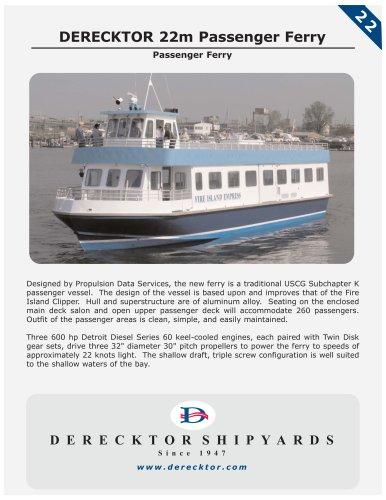 DERECKTOR 22m Passenger Ferry
