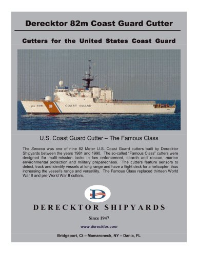 Derecktor 82m Coast Guard Cutter