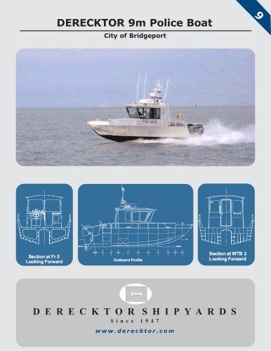 DERECKTOR 9m Police Boat