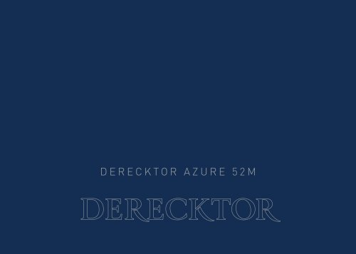 Derecktor Awareness Azure 52m