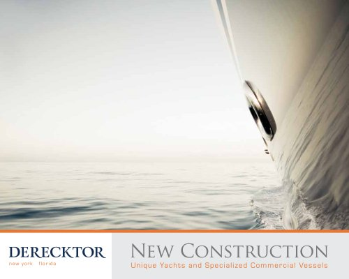 Derecktor New Construction