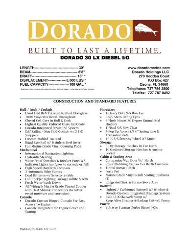 DORADO 30 LX