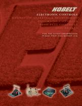 Electronic controls brochure