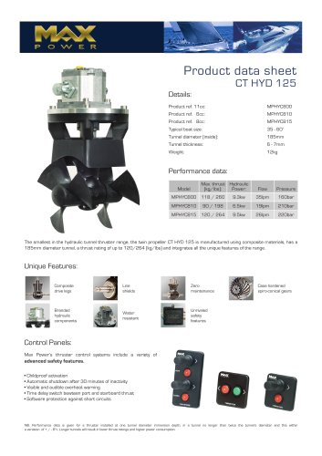 CT125HYD-Product-Data-Sheet