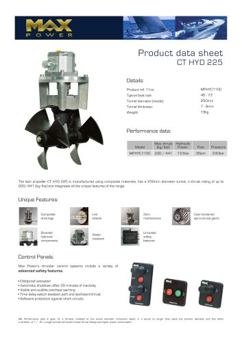 CT225HYD-Product-Data-Sheet