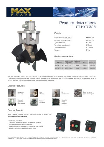 CT325HYD-Product-Data-Sheet