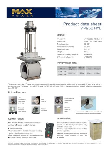 VIP250HYD-Product-Data-Sheet