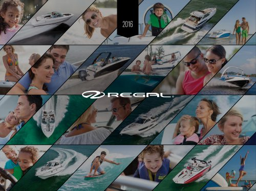 2016 Regal Boats Brochure