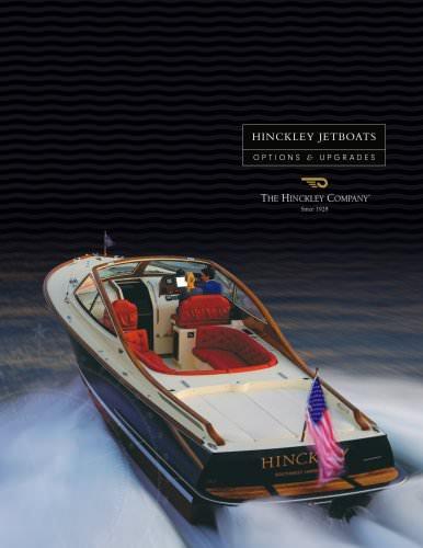 Hinckley jetboats options & upgrades