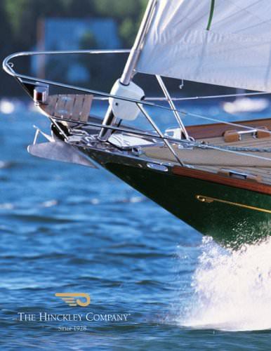 Hinckley Sail-Brochure