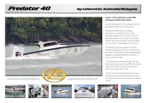 LeisureCat Predator 40 (solid foam collar)
