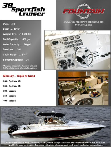 38 Sportfish Cruiser