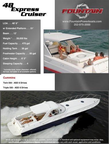 48 Express Cruiser