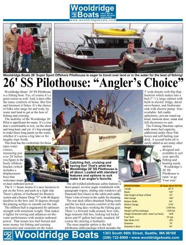 26' SS Pilothouse
