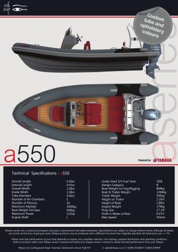 A 550