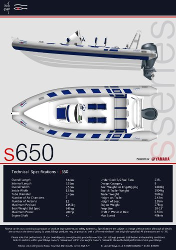 S 650