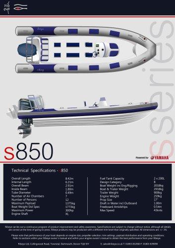 S 850