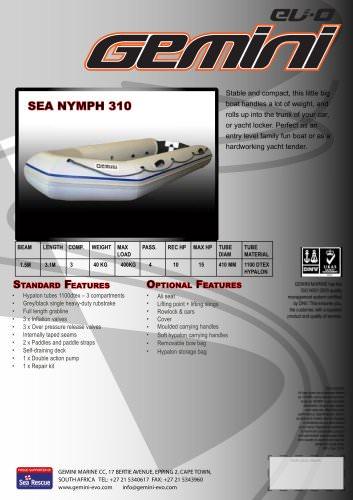 sea nymph 310