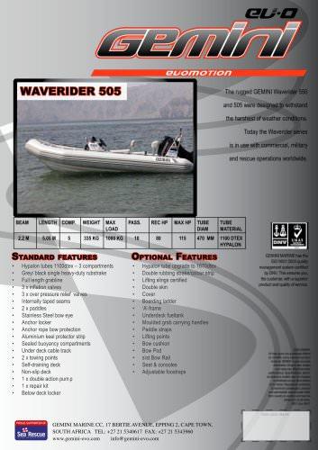 waverider 505