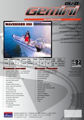 waverider 550
