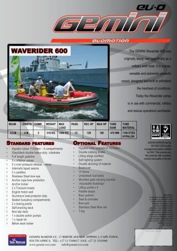 waverider 600