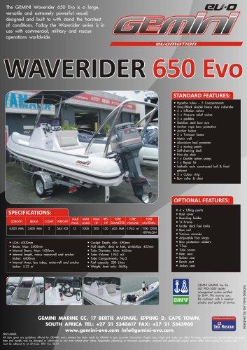 waverider 650
