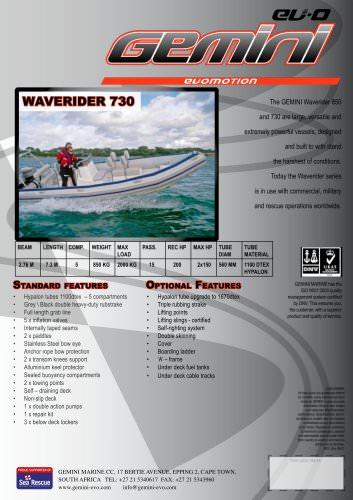 waverider 730