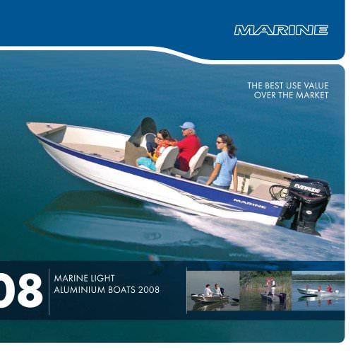Marine light aluminium boats 2008