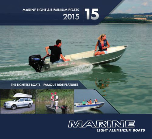 Marine -light aluminium boats