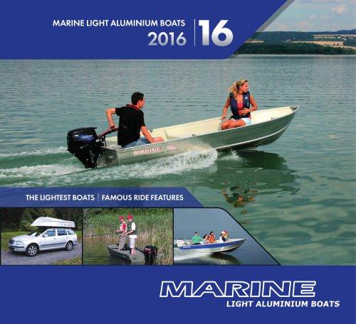 Marine Light Aluminium Boats Catalogue 2016