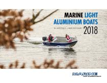 Marine Light Aluminium Boats Catalogue 2018