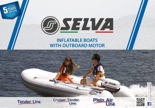 Rigid inflatable boat  Tender, Plein Air Line