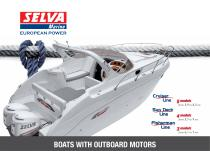 Boats with Outboard Motors General Catalogue Cruiser Line, Sun Deck Line, Fisherman Line