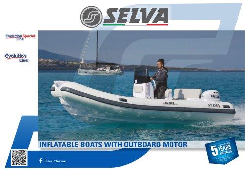 Fibreglass boat Evolution, Evolution Special Line